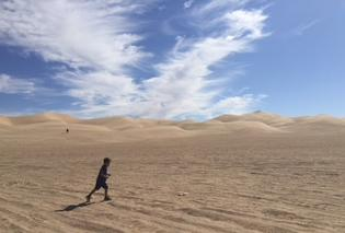 砂漠を楽しむ